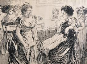 Attributed To Charles Dana Gibson (1867-1944) American.