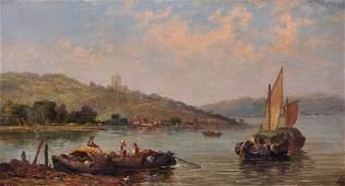 Circle of Jane Vivian act18691877 British A River