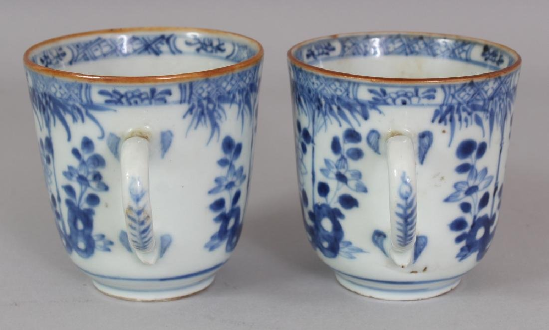 A PAIR OF EARLY 18TH CENTURY CHINESE BLUE & WHITE - 4