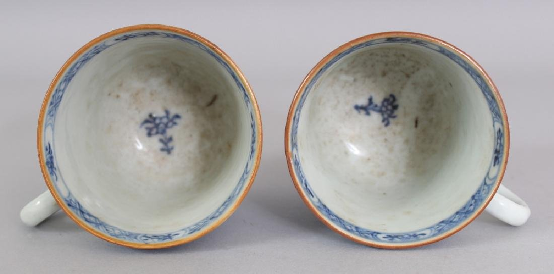 A PAIR OF EARLY 18TH CENTURY CHINESE BLUE & WHITE - 7