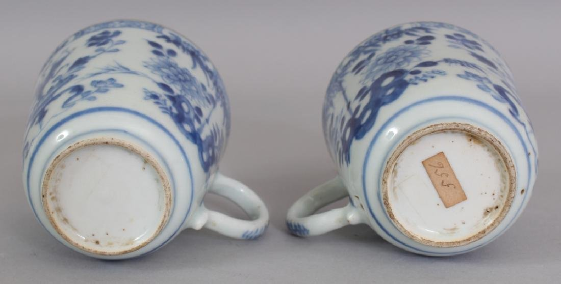 A PAIR OF EARLY 18TH CENTURY CHINESE BLUE & WHITE - 8