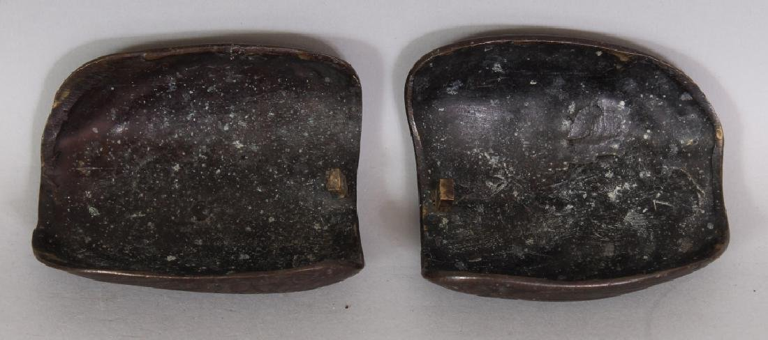 A GOOD PAIR OF 19TH CENTURY CHINESE DUCK FORM CENSERS & - 8