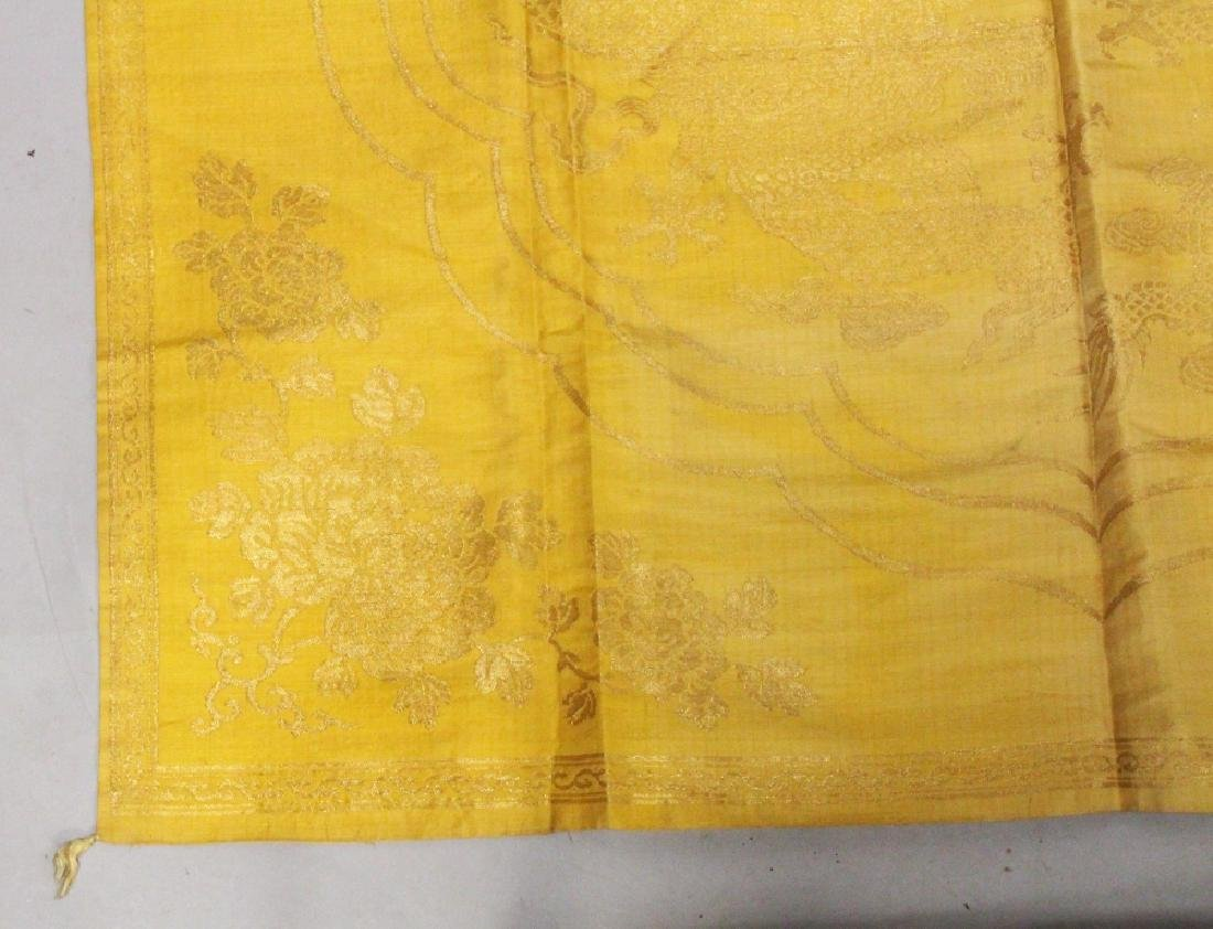 A GOOD QUALITY LATE 19TH CENTURY CHINESE YELLOW GROUND - 3