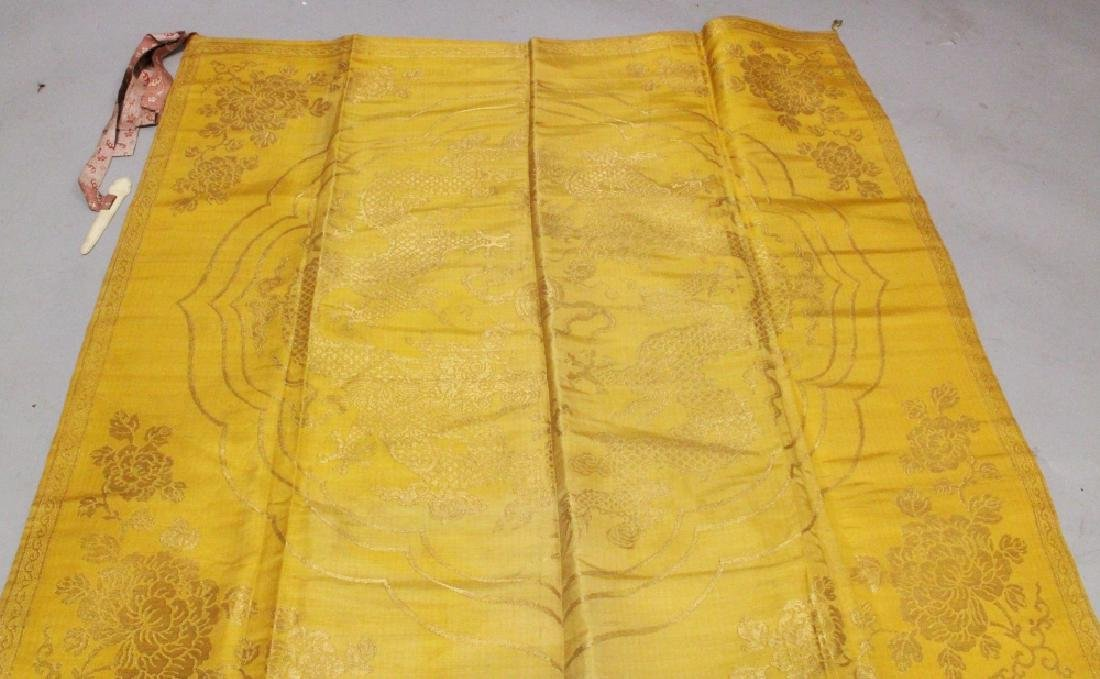 A GOOD QUALITY LATE 19TH CENTURY CHINESE YELLOW GROUND - 4