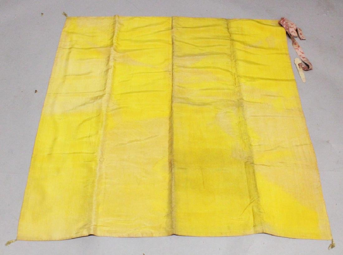 A GOOD QUALITY LATE 19TH CENTURY CHINESE YELLOW GROUND - 6