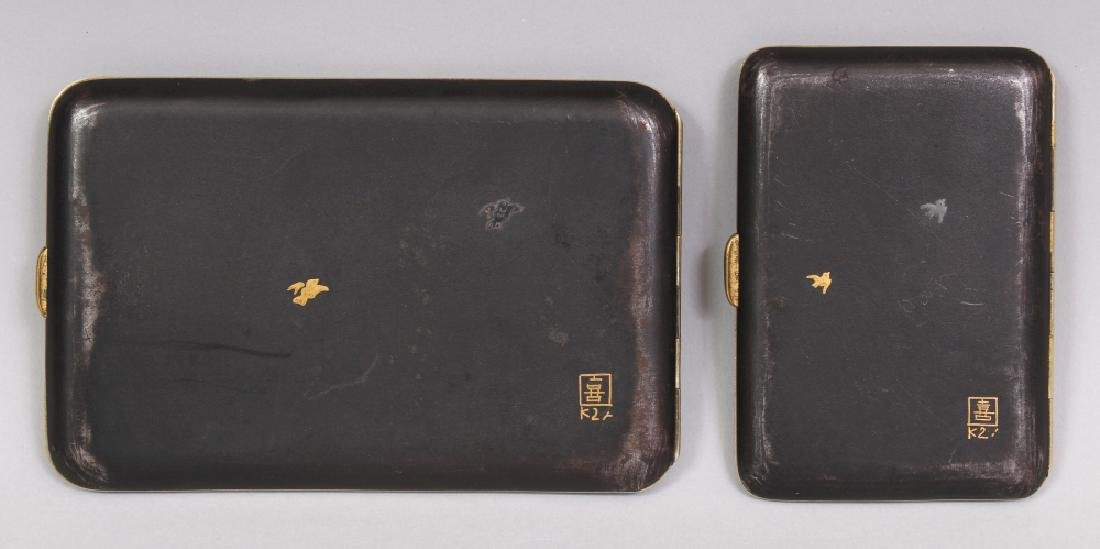 TWO EARLY 20TH CENTURY JAPANESE KOMAI STYLE GILT & - 6