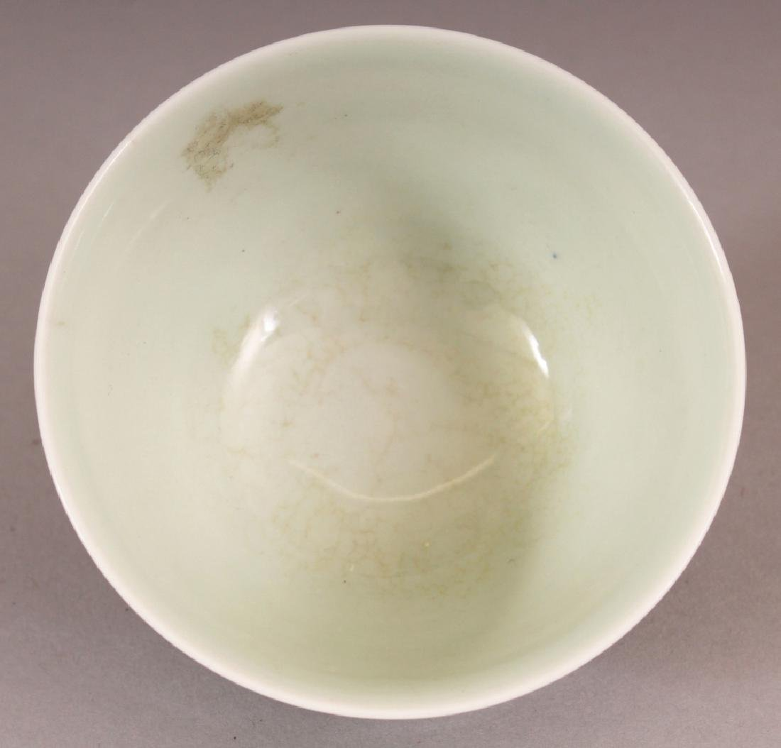 A CHINESE MING STYLE DOUCAI PORCELAIN TEABOWL, the - 5