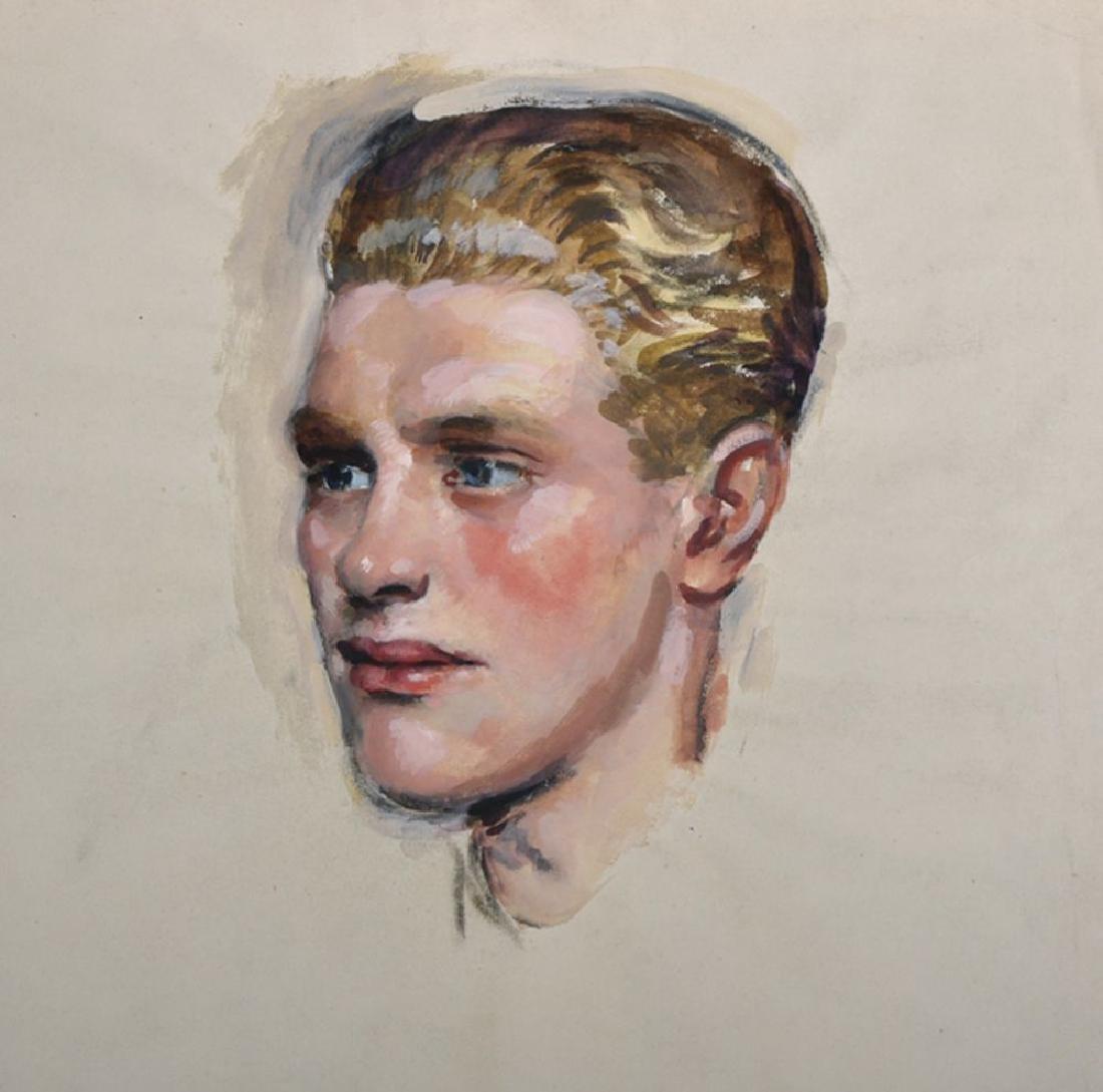 William Bruce Ellis Rankin (1881-1941) British. Study