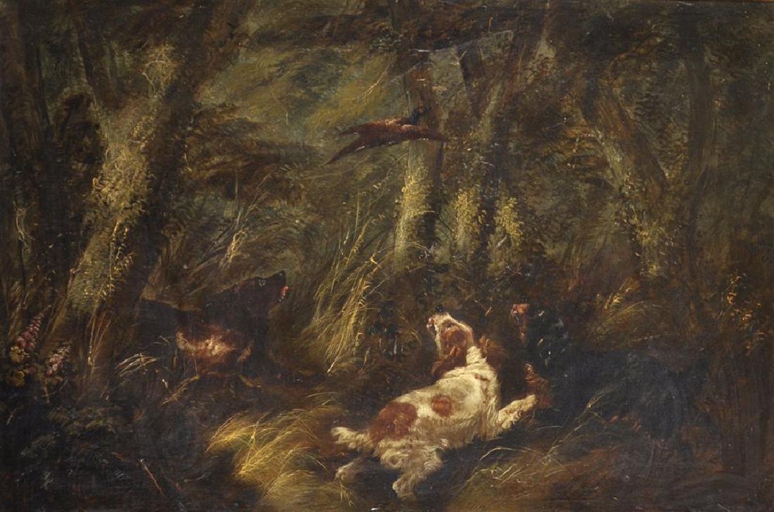 George Armfield (1808-1893) British. A Woodland Scene,