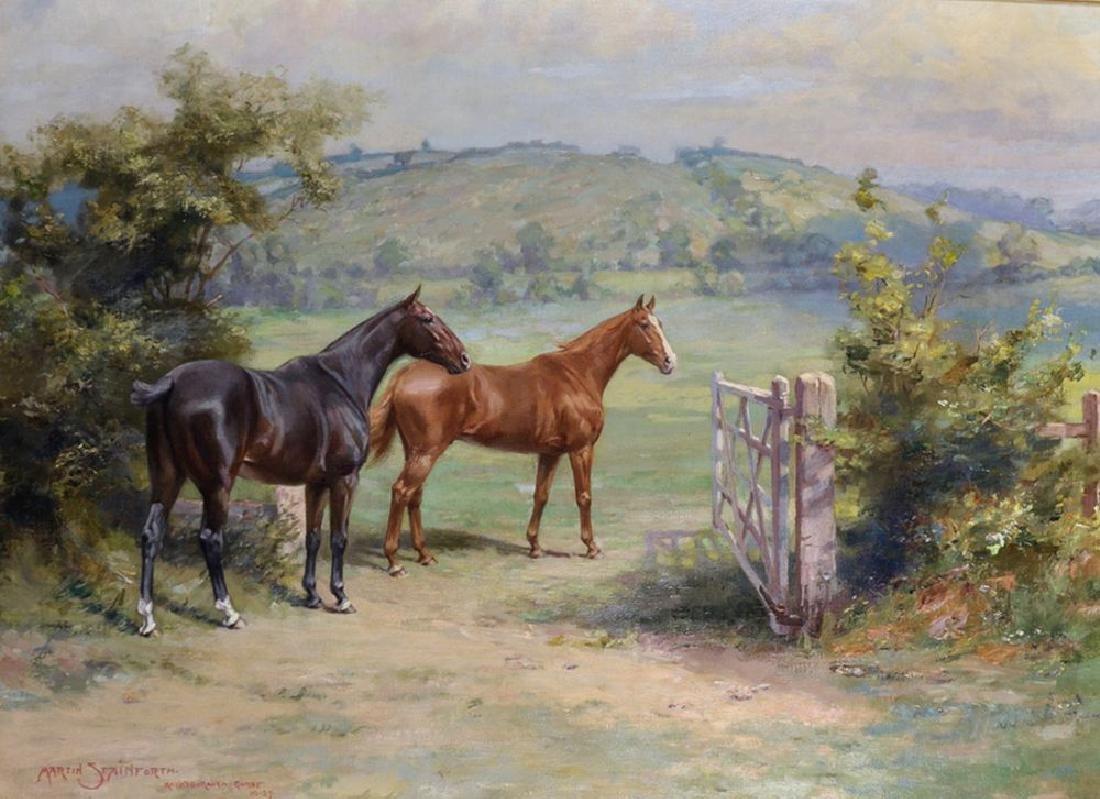 Martin Frank Stainforth (1866-1957) British.