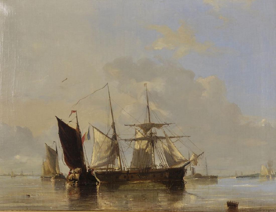 Jules Henri Jean Schaumberg (1839-1886) Belgian. A