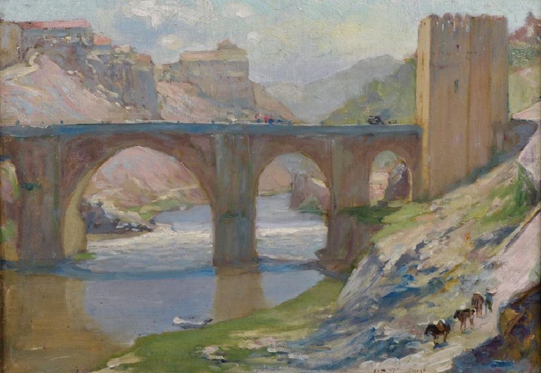 "Alfred John Billinghurst (1880-1963) British. ""Toledo"","