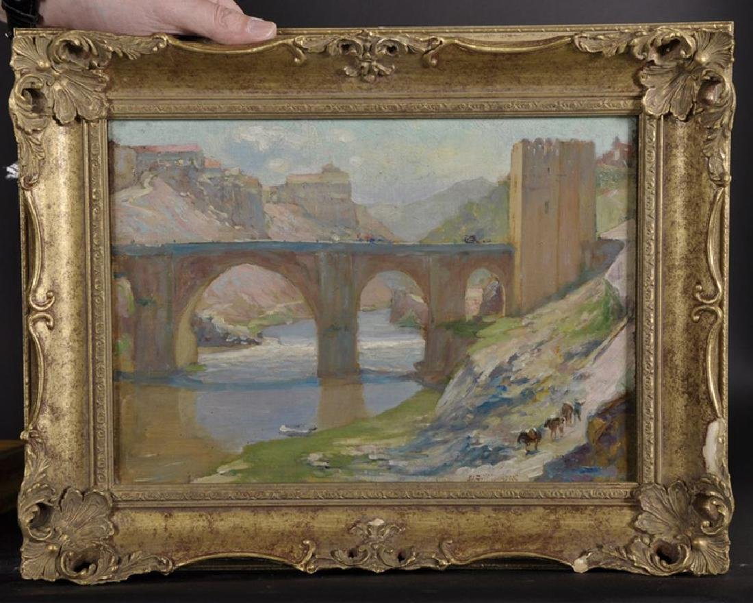 "Alfred John Billinghurst (1880-1963) British. ""Toledo"", - 2"