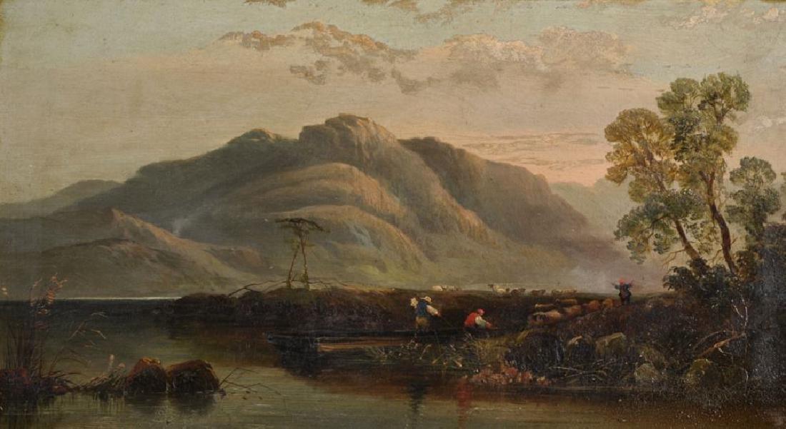 19th Century English School. A Mountainous River