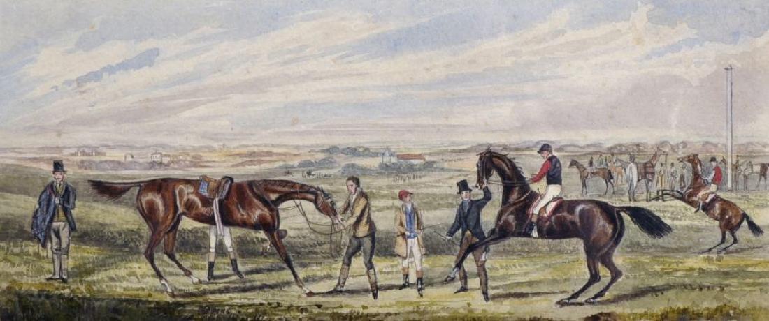 Henry Alken (1810-1894) British. A Racing Scene,