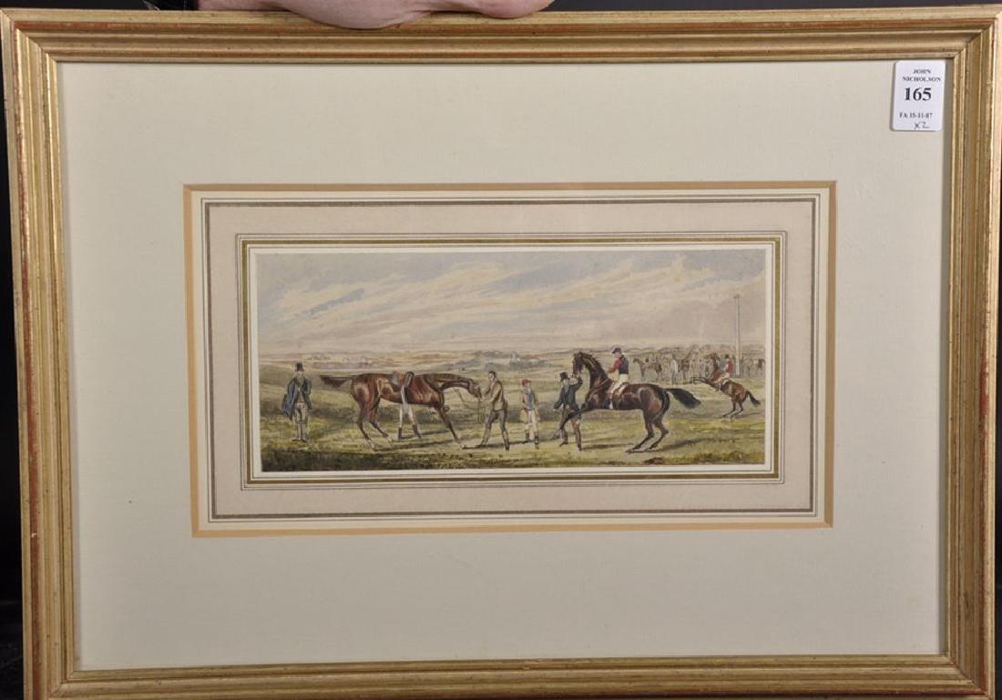 Henry Alken (1810-1894) British. A Racing Scene, - 3