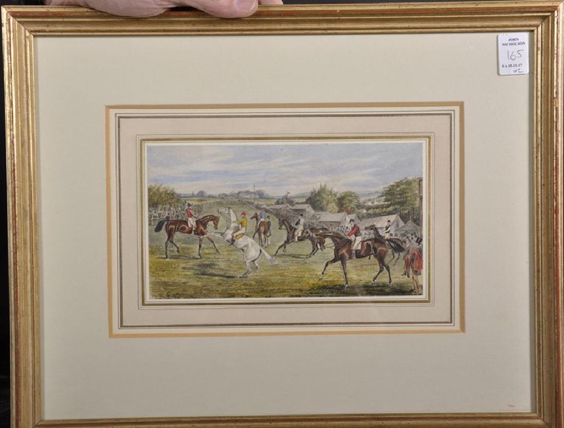 Henry Alken (1810-1894) British. A Racing Scene, - 4