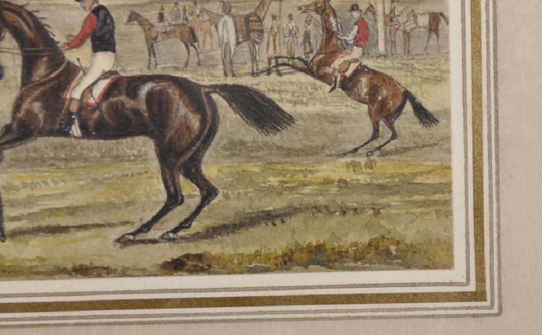 Henry Alken (1810-1894) British. A Racing Scene, - 5