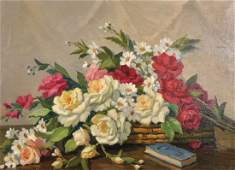 Paul Andre Jean Eschbach (1881-1961) French. Still Life
