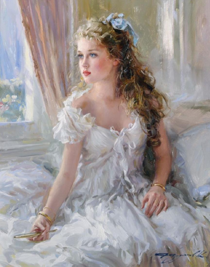 "Konstantin Razumov (1974-    ) Russian. ""Young Girl"
