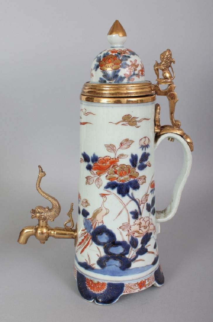 A GOOD JAPANESE EARLY IMARI PORCELAIN CISTERN, circa
