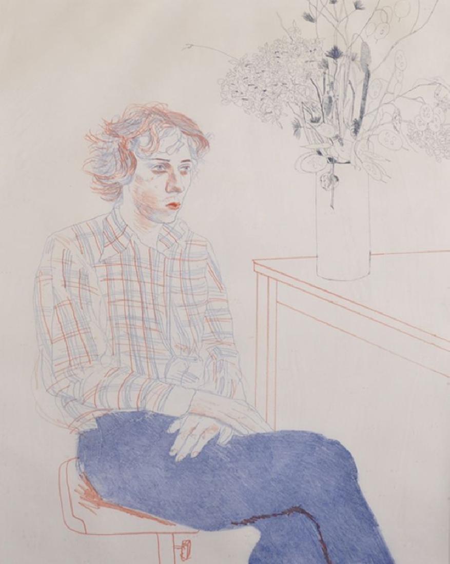 "David Hockney (1937    ) British. ""Gregory"", Study of a"