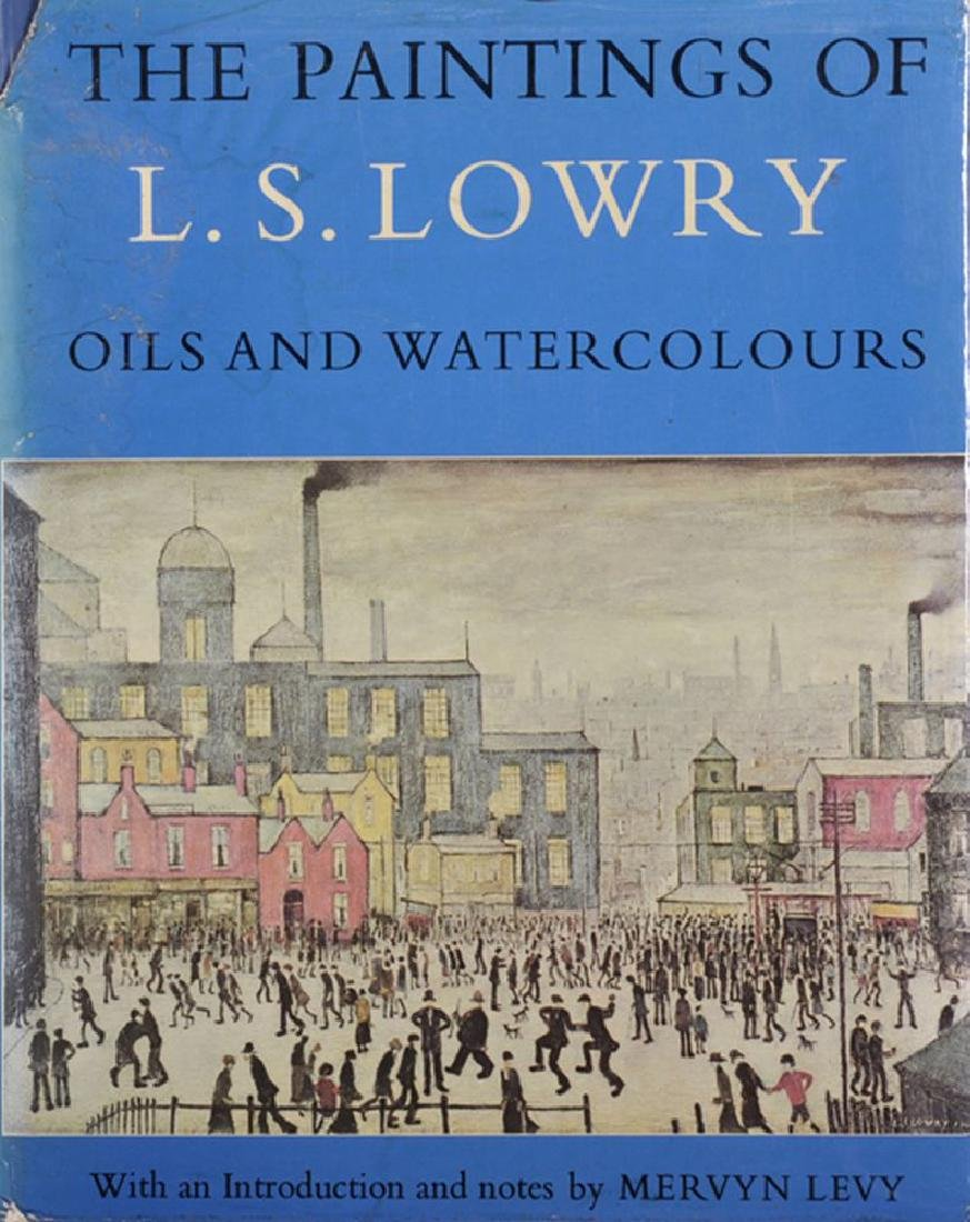 """Laurence Stephen Lowry (1887-1976) British. """"Oils and"""