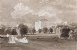Early 20th Century English School. A Sketch of a