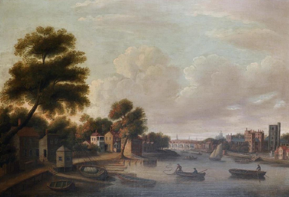 Daniel Turner (act.1782-1820) British.  Thames Scene