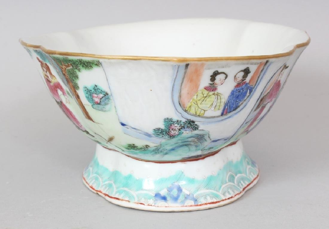 A 19TH CENTURY CHINESE DAOGUANG MARK & PERIOD FAMILLE - 2