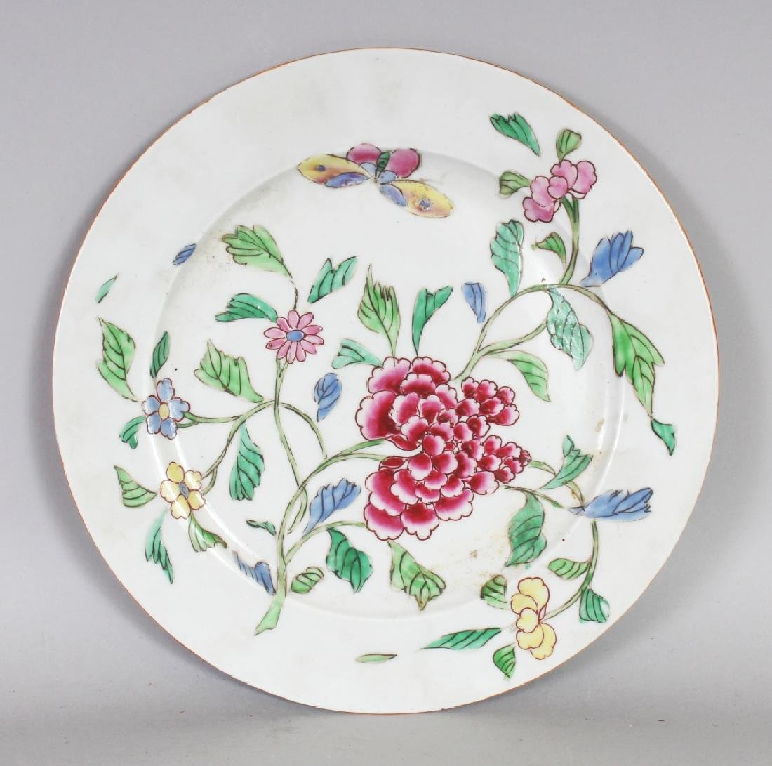 ANOTHER SAMSON QIANLONG STYLE FAMILLE ROSE PORCELAIN