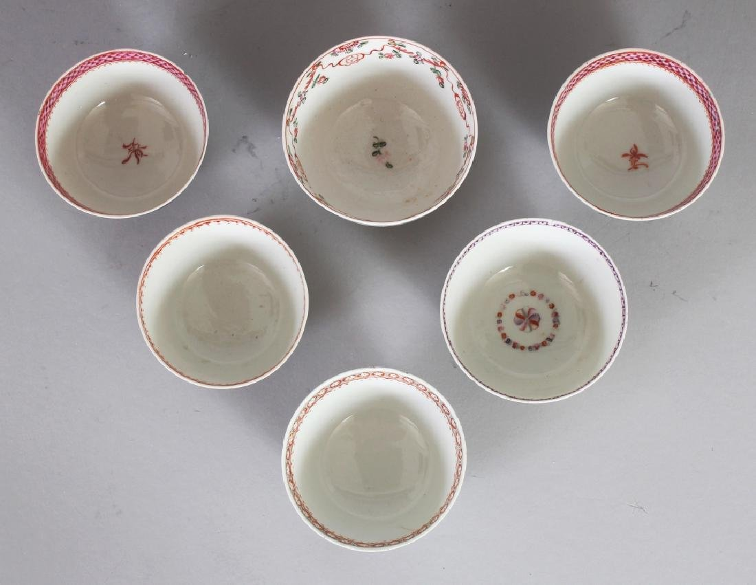 A GROUP OF SIX CHINESE QIANLONG PERIOD FAMILLE ROSE - 5