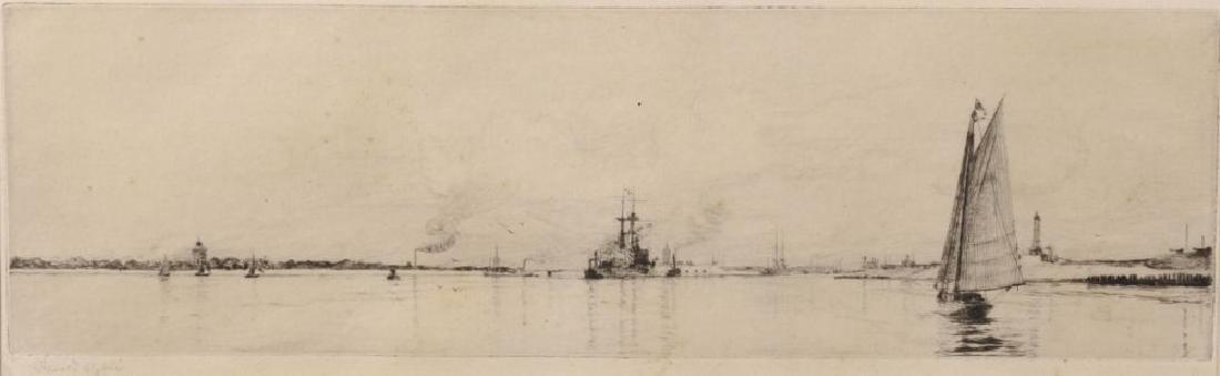 Harold Wyllie (1883-1973) British. Sailing Boat and