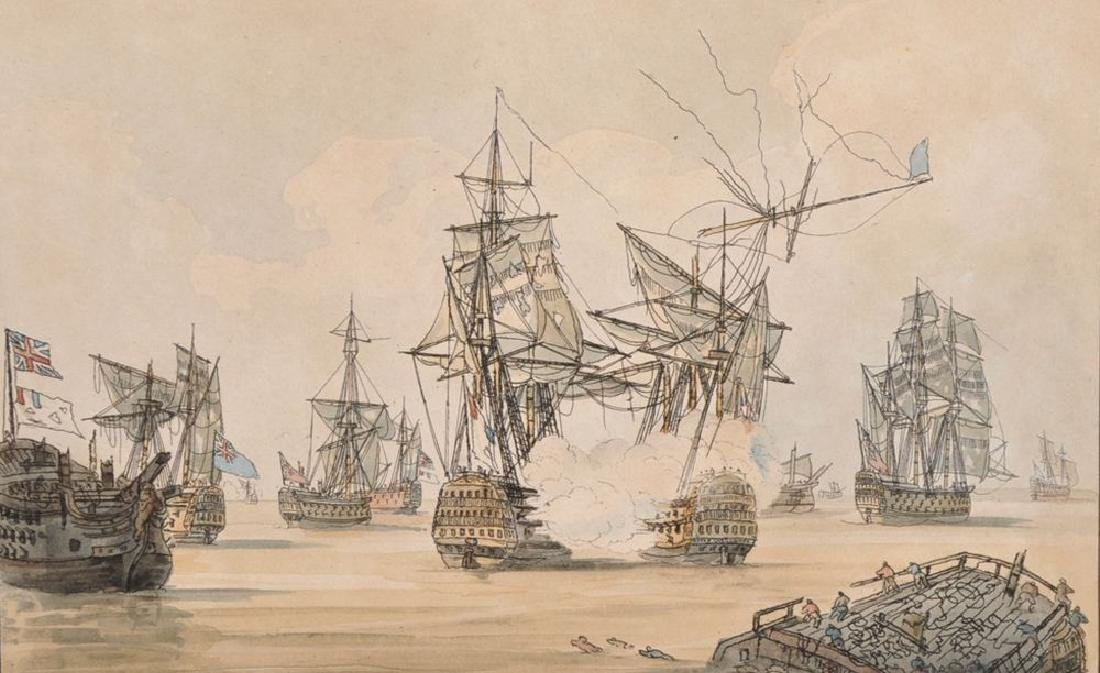 After Samuel Owen (1768-1857) British. 'His Majesty's
