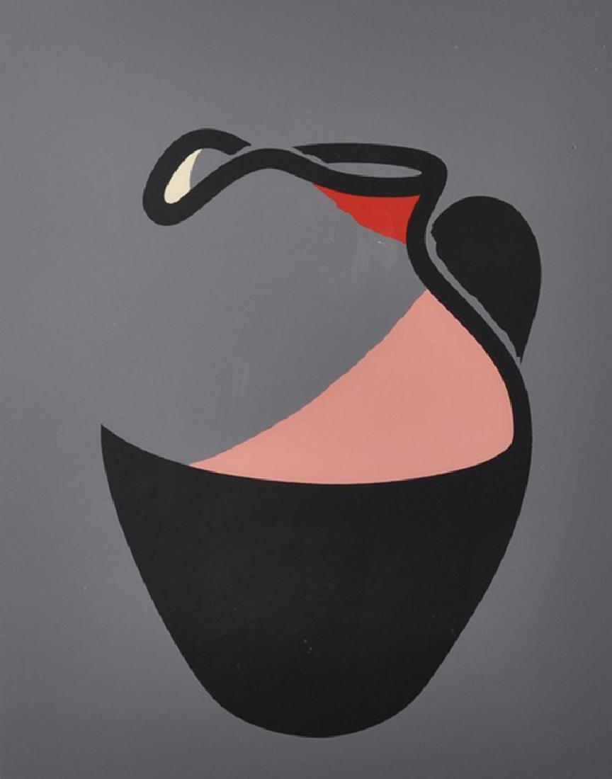 "Patrick Caulfield (1936-2005) British. ""Pink Jug"","