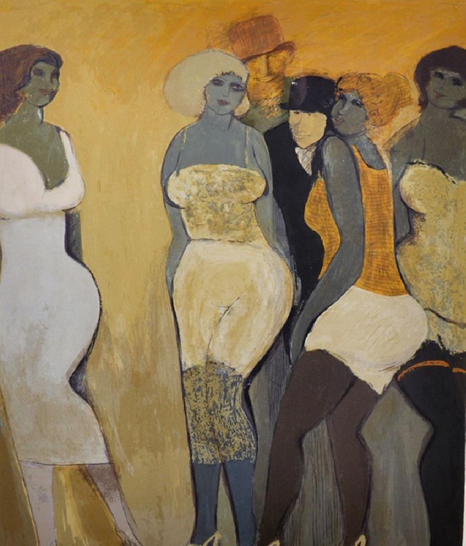 David Schneuer (1905-1988) Polish/Israeli. Elegant
