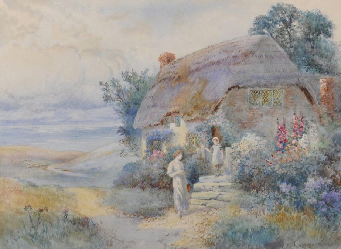 "Thomas Noel Smith (1840-1900) British. ""A Summer"