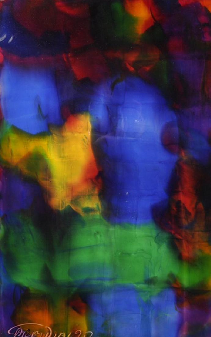 Carlos Diaz (1968   ) Spanish. An Abstract, Mixed Media