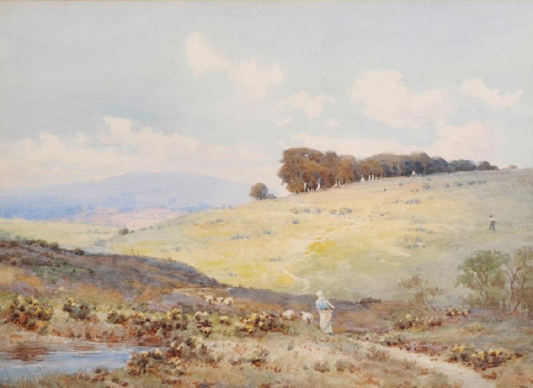E... H... Martin (19th Century) British. A River