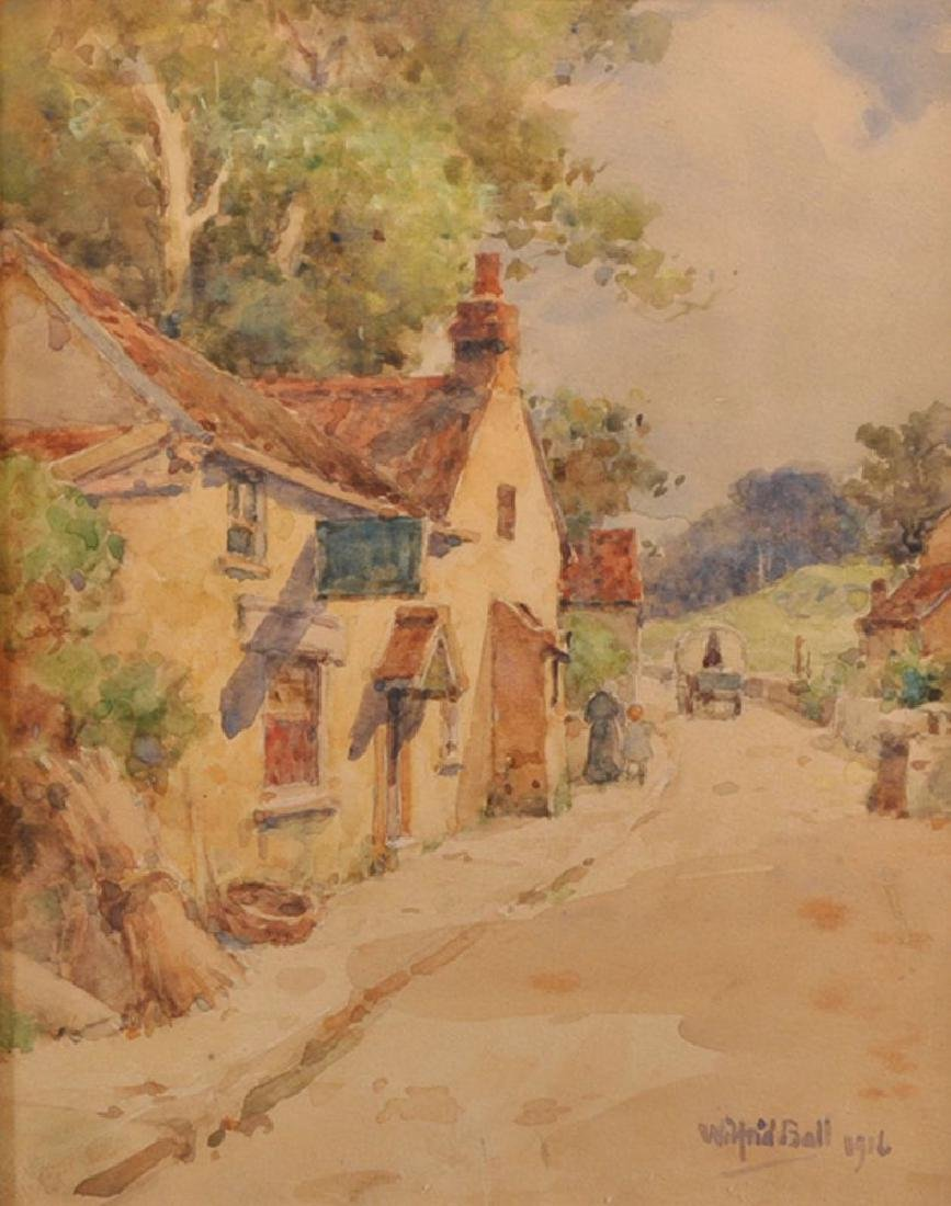 "Wilfred Williams Ball (1853-1917) British. ""Westbury on"