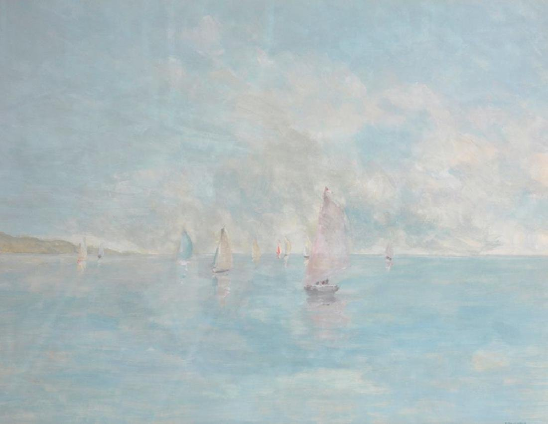 P... Faucheur (20th Century) Continental. Sailing Boats