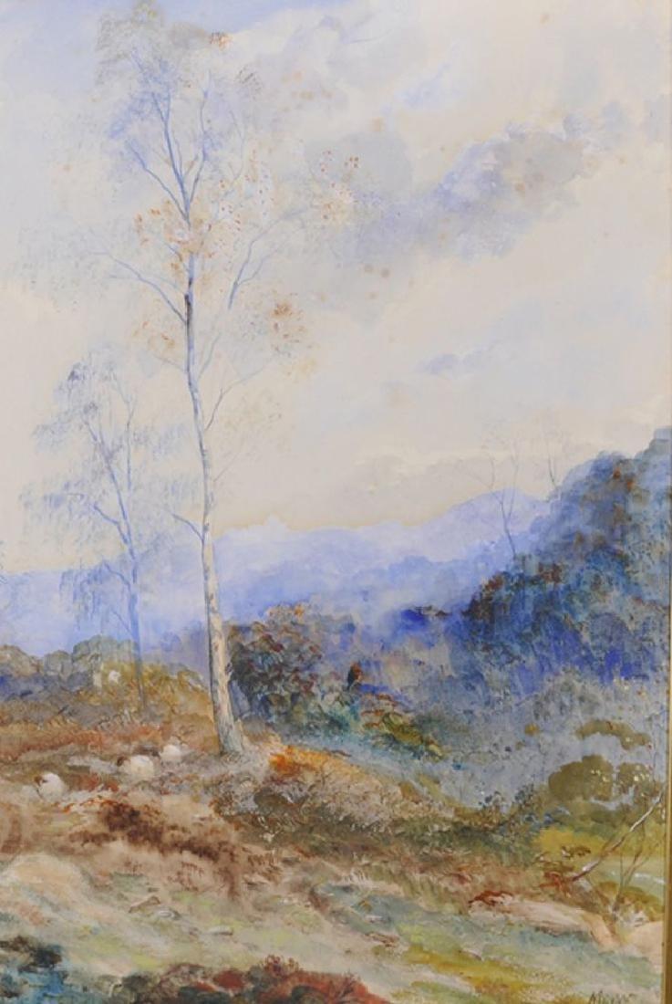 "John MacWhirter (1839-1911) British. ""A Glimpse of the"