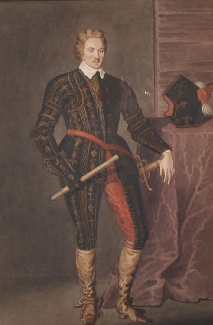 T... Athow (Exh. 1802-1882) British. Portrait of Henry,