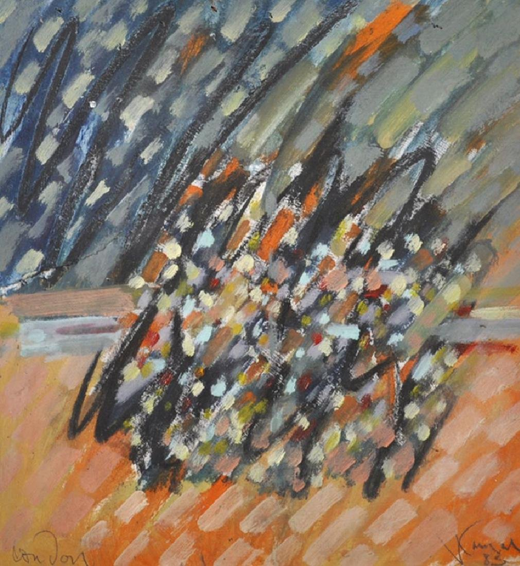 "20th Century English School. ""London"", An Abstract"