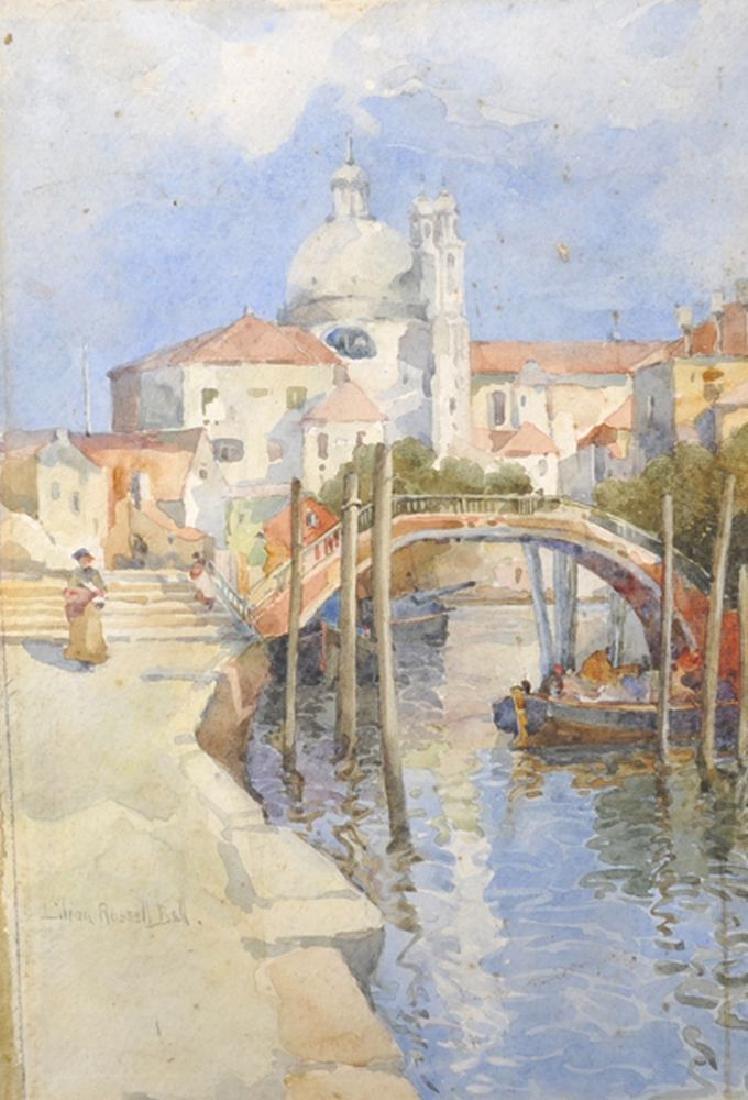 Lillian Russell Bell (1864-1947) British. A Venetian