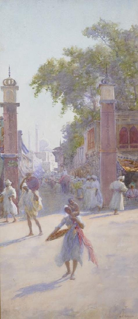 "Alfred Edward Emslie (1848-1918) British.  ""Eastern"