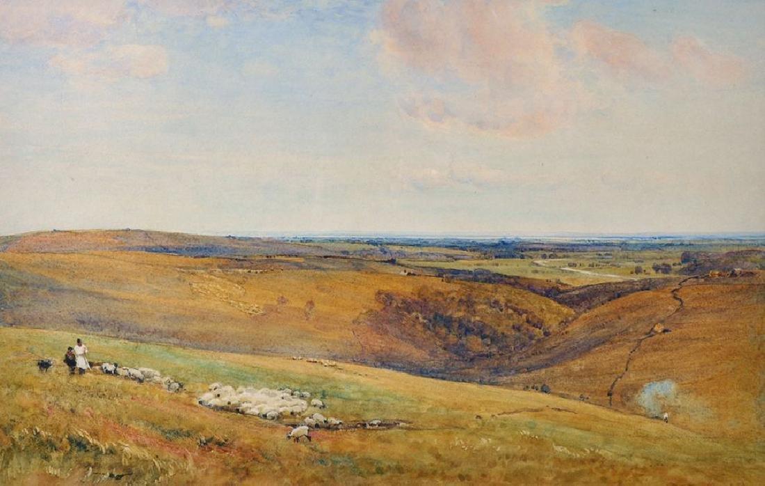 """Robert Thorne Waite (1842-1935) British. """"Sussex"""