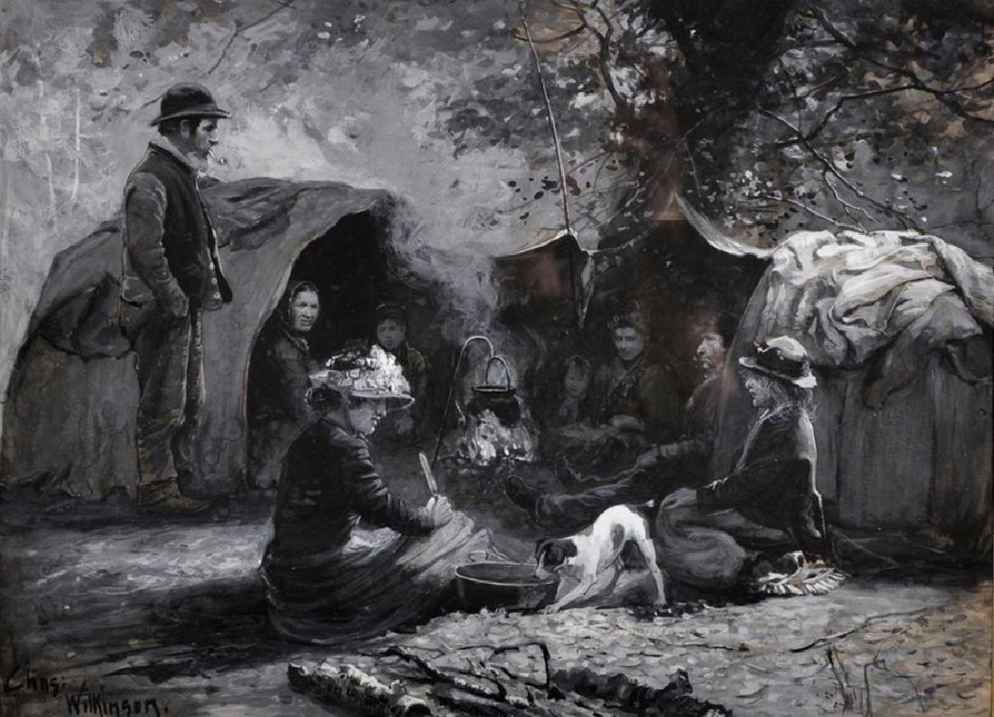 """Charles A... Wilkinson (1862-c.1925) British. """"Under"""