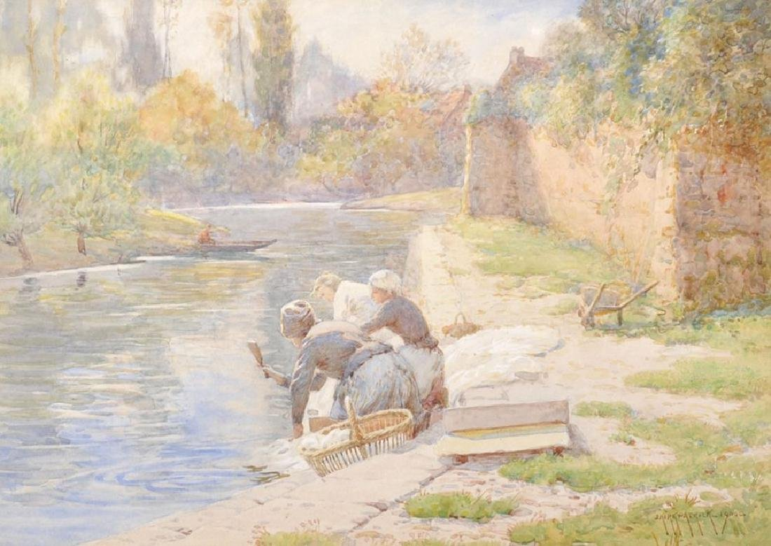 Joseph Kirkpatrick (1872-1936) British. A River
