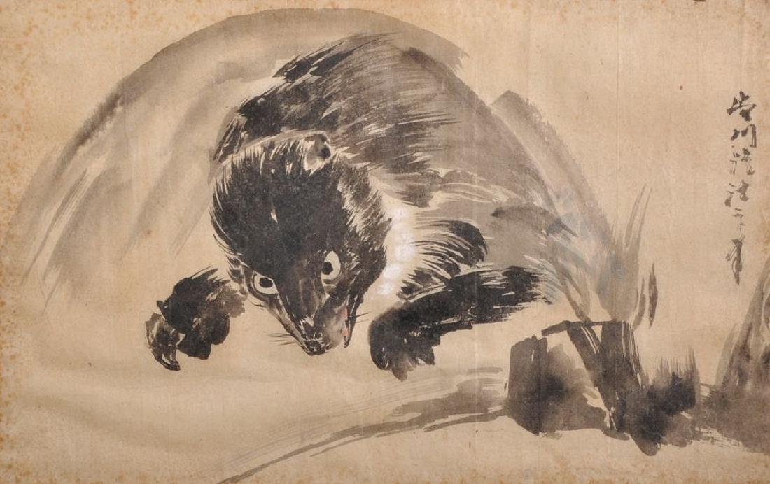 Kano Eisenin Michinobu (1730-1790) Japanese. Study of a